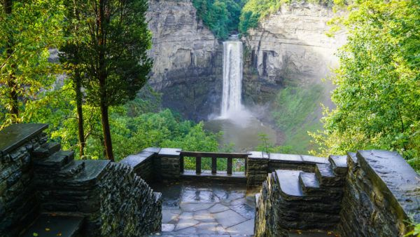 Taughannock Waterfall in New York