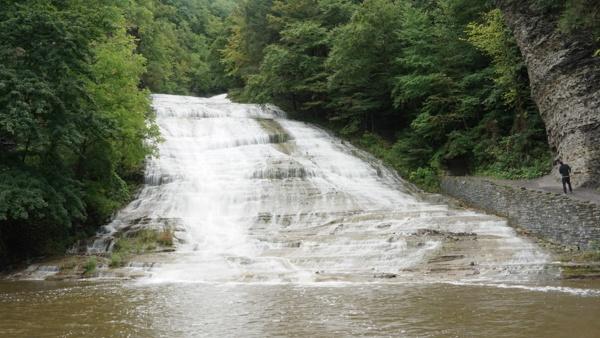 Buttermilk falls near Ithaca