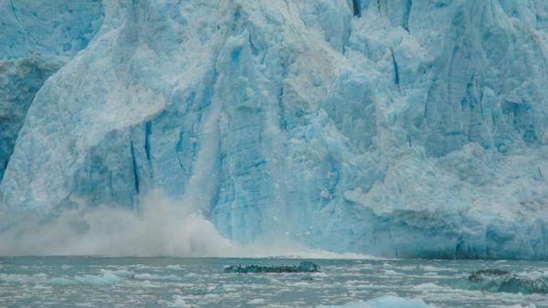 Calving Glacier at Kenai Fjords