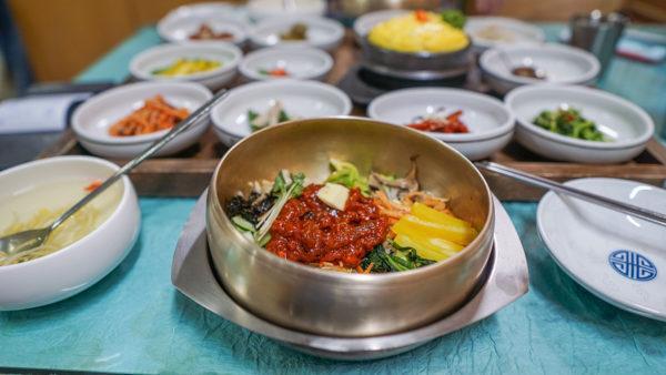 Bibimbap in Korea