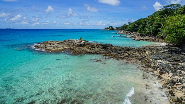 Mahe in the Seychelles