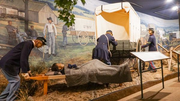 New Ambulance System at the Civil War Medicine Museum