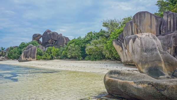 La Digue Beaches