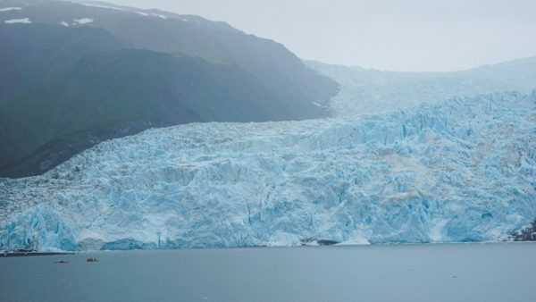 Alaska glaciers on Kenai Fjords Tour