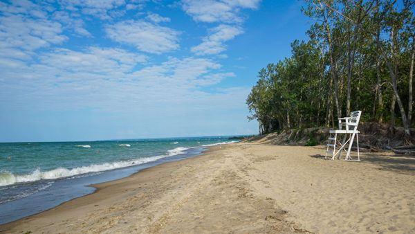 Presque Isle Beach