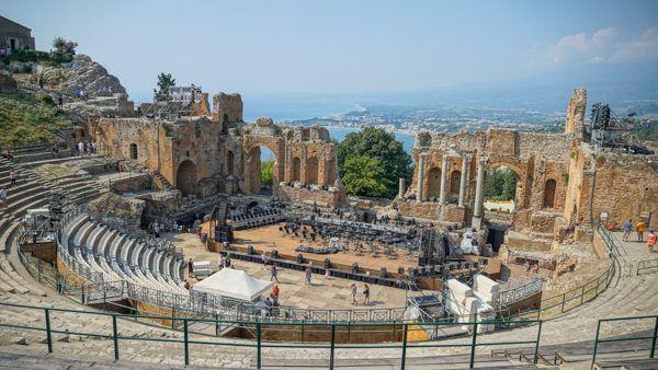 Roman Theater in Taormina