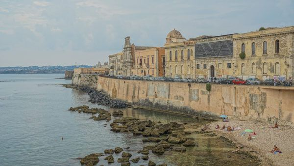 Siracusa in southeast Sicily