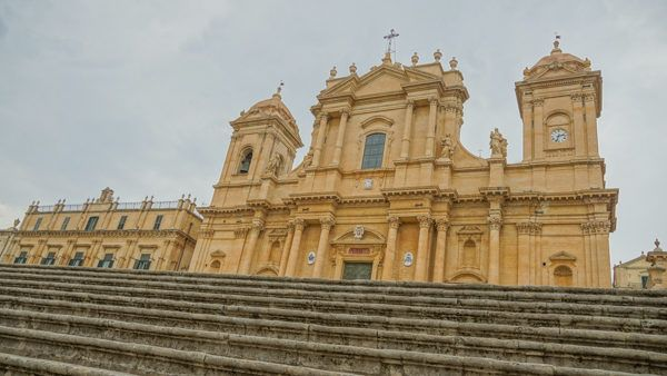 Noto historical architecture