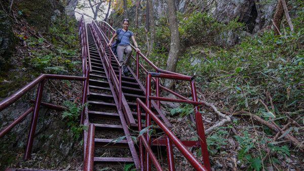Stairs at Naejangsan