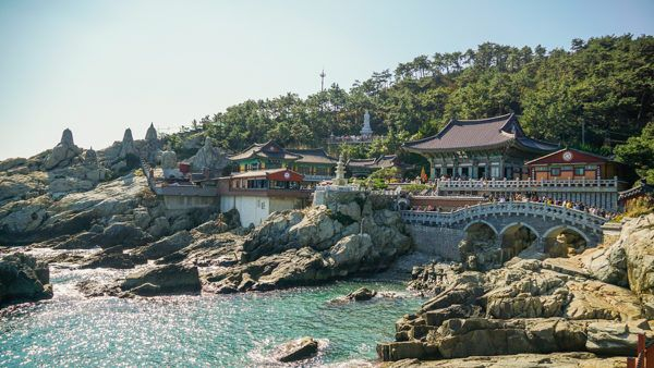 Busan Seaside Temple
