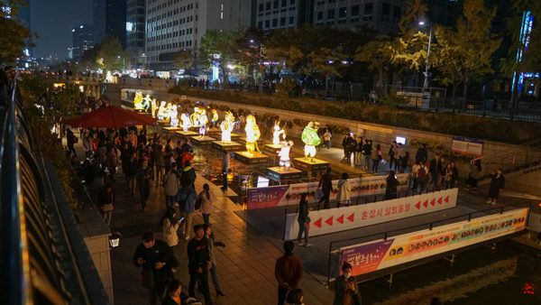 Chinese Zodiac Characters at the Seoul Lantern Festival