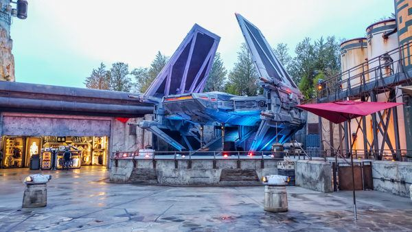 Galaxy's Edge Set at Disney World