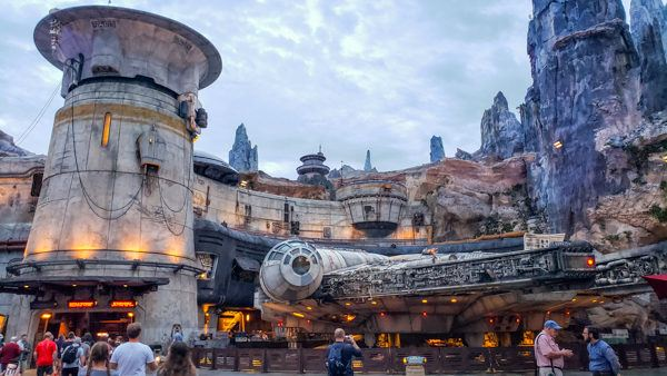 Millennium Falcon at Hollywood Studios Smuggler's Run
