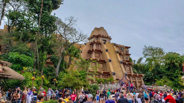 Mexico Pavilion in Epcot
