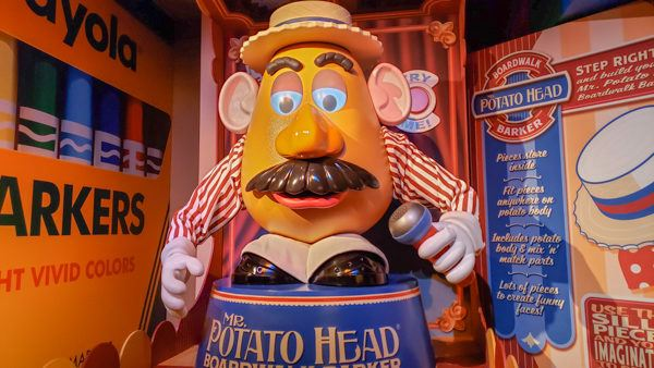 Mr. Potato Head at Hollywood Studios