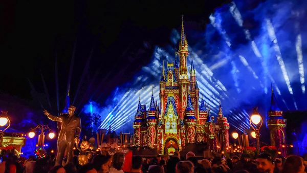 Fireworks at Magic Kingdom