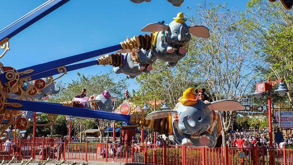 Dumbo at Magic Kingdom