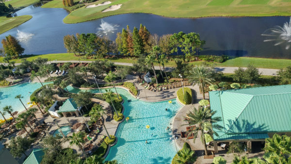 Lazy River Pool at Hilton Bonnet Creek