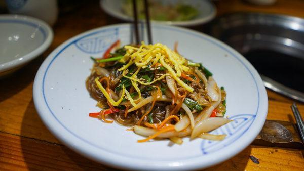 Japchae Noodles in South Korea