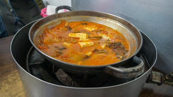 Kimchi Stew in Seoul