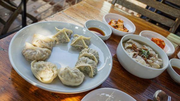 Mandu is one of our favorite Korean foods
