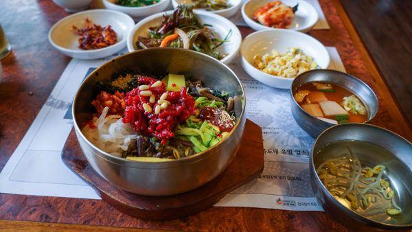 Bibimbap in Jeonju