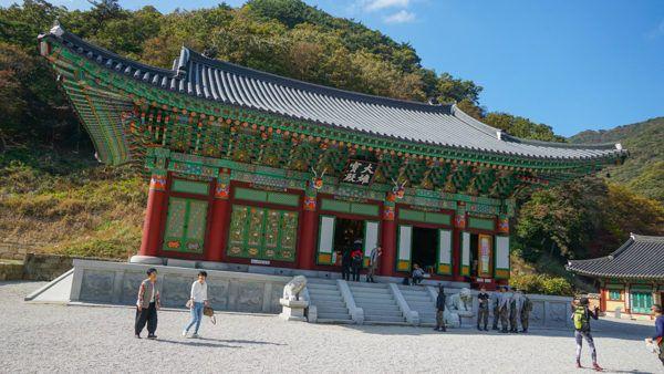 Naejangsan National Park Temple