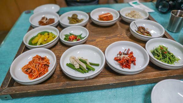 Banchan in South Korea