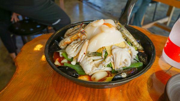 Seafood Stew on Jeju Island