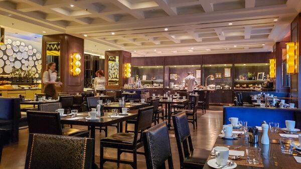 Hilton Vienna Plaza restaurant