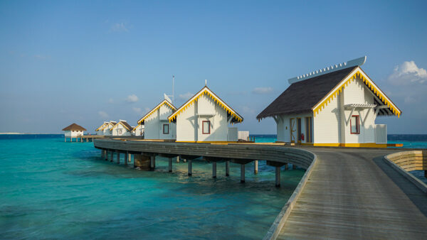 Overwater Bungalows at Saii Lagoon
