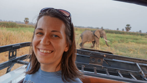 First Elephant Sighting in Uganda