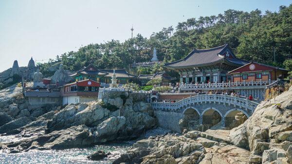 Haedong Yonggungsa in Busan