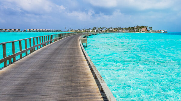 Walkway between Crossroads and the Hard Rock Maldives