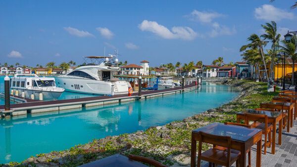Crossroads Marina in the Maldives