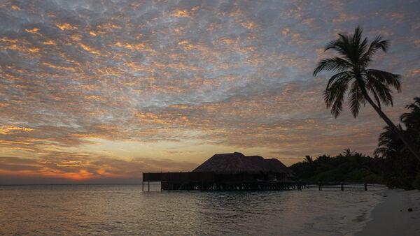 Sunset on Rangali Island