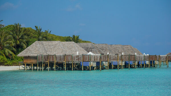 Overwater Bungalows at the Conrad Rangali