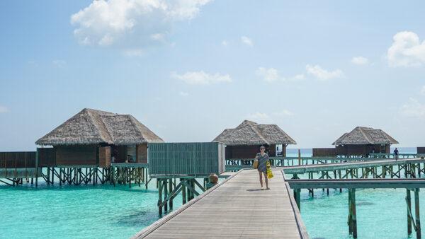 Over Water Spa Bungalows at Conrad Maldives