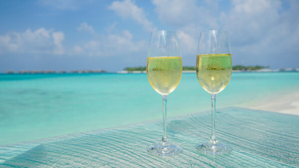 Hilton Honors Happy Hour on Rangali Island