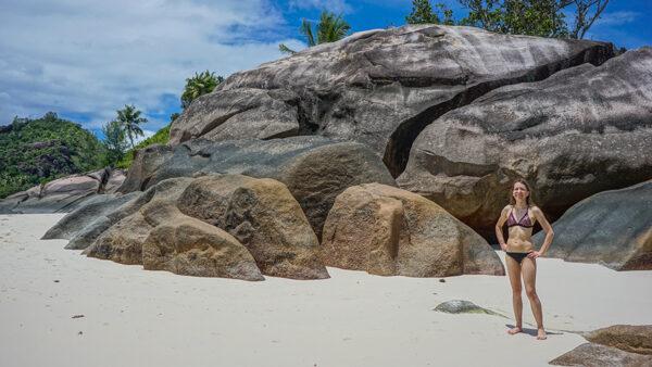 Boulders on Mahe, Seychelles