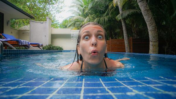 Plunge Pool at Hilton Labriz
