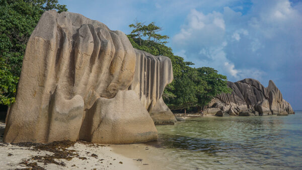 Boulders on La Digue, Seychelles