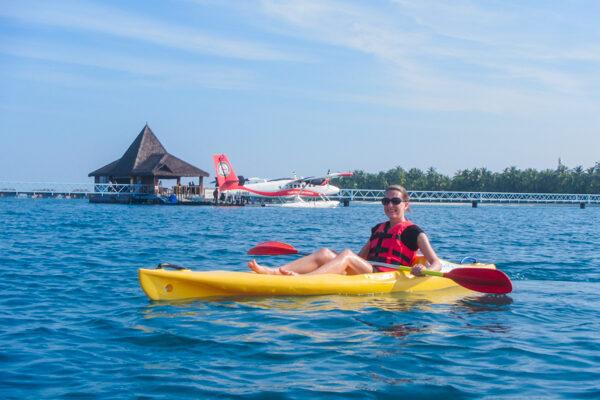 Free Kayaking at the Conrad
