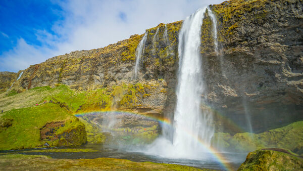 Seljalandfoss Waterfall in Iceland