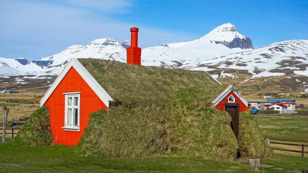 Unique House Insulation in Borgarfjordur Eystri