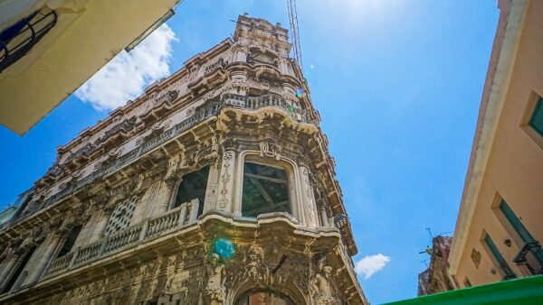 Buildings in Old Town Havana