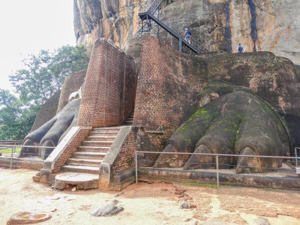 The Lion Rock of Sigiriya