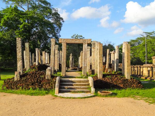 The Ruins of Polonnaruwa