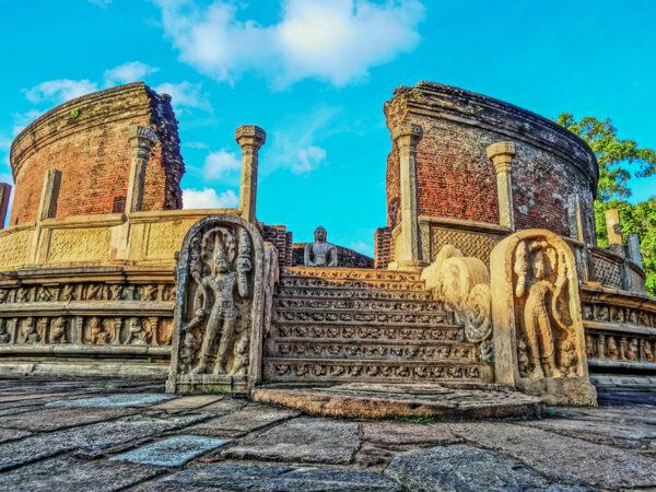 Vatadage Temple in Sri Lanka