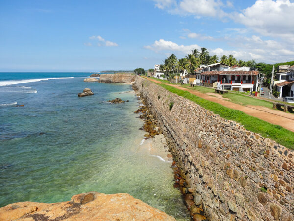 Fort Wall in Galle